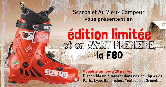 Scarpa F80 édition limitée