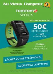 TomTom Sports 50 euros de remboursés