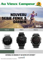Nouveau Serie Fenix 5 Garmin